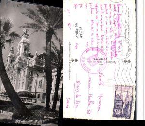 493769,Monaco Monte-Carlo Le Casino et les Terrasses Palmen
