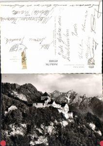 493888,Fürstentum Liechtenstein Schloss Vaduz Bergkulisse