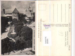 493895,Estonia Tallinn Vaade Toompeale Kirche Turm