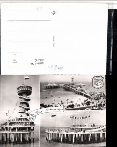 496042,Netherlands Scheveningen Pier Seebrücke Mehrbildkarte