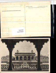496305,India Agra Palast des Moghul Kaiser Arkaden
