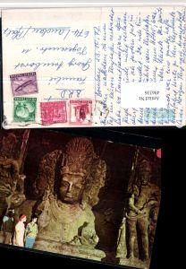 496336,India Bombay Mumbai Elephanta Caves Höhle