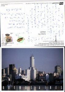 496602,Argentina Buenos Aires vista desde el puerto Teilansicht