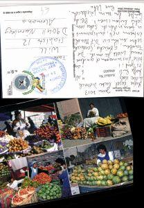 496603,Bolivia La Paz Mercado Rodriguez Markt Gemüse Mehrbildkarte