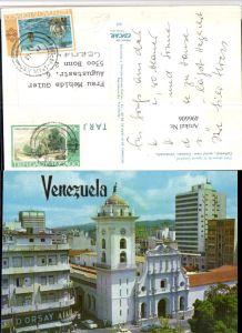 496606,Venezuela Caracas Cathedral aerial view Kirche