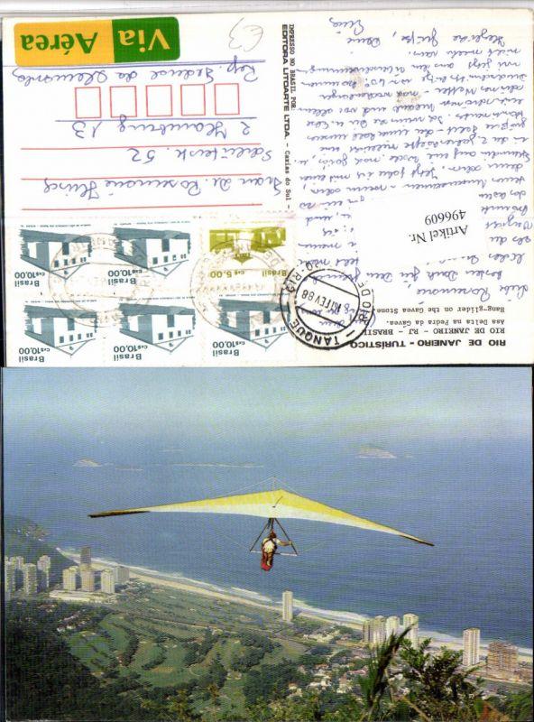 496609,Brazil Rio de Janeiro Asa Delta na Pedra da Gavea Hängegleiter