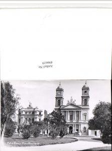 496619,Argentina Bahia Blanca Plaza Rivadavia Platz Kirche