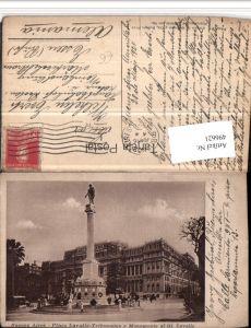 496621,Argentina Buenos Aires Plaza Lavalle Tribunales Monument Säule