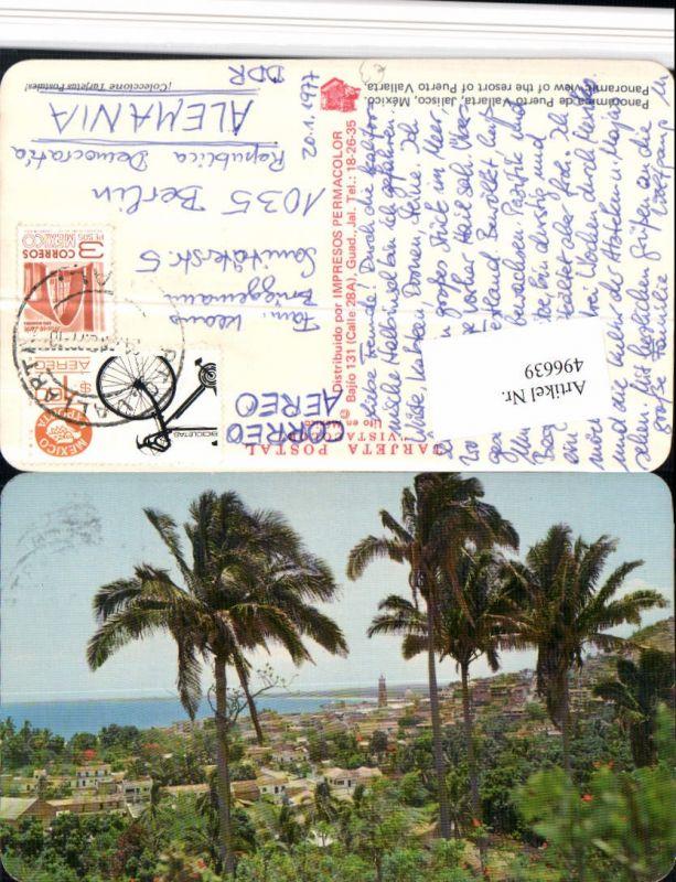 496639,Mexico Jalisco Panorama de Puerto Vallarta Teilansicht Palmen