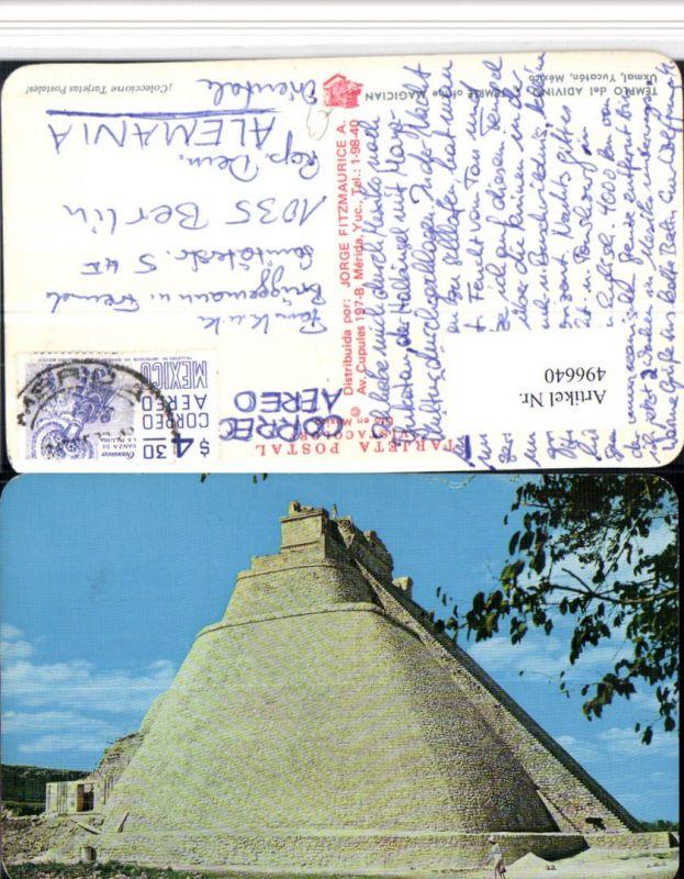 496640,Mexico Yucatan Templo del Adivino Tempel