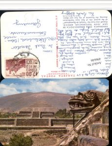 496646,Mexico Panoramica Zona Arqueologica de San Juan Teotihuacan Tempel
