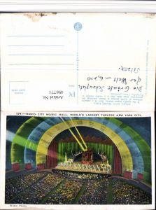 496771,New York City Theatre Radio City Music Hall Innenansicht