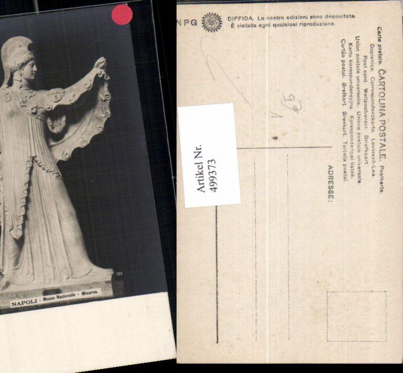 499373,Plastik Figur Skulptur Minerva Napoli Museo Nationale pub NPG