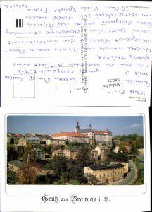 500231,Braunau Böhmen Broumov Teilansicht Benediktiner Kloster