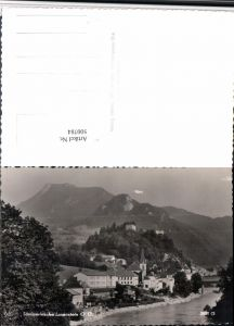 500784,Losenstein Totale m. Ruine