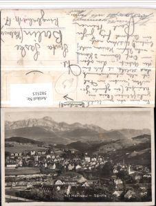 502515,Herisau Totale m. Säntis Bergkulisse Kt Appenzell