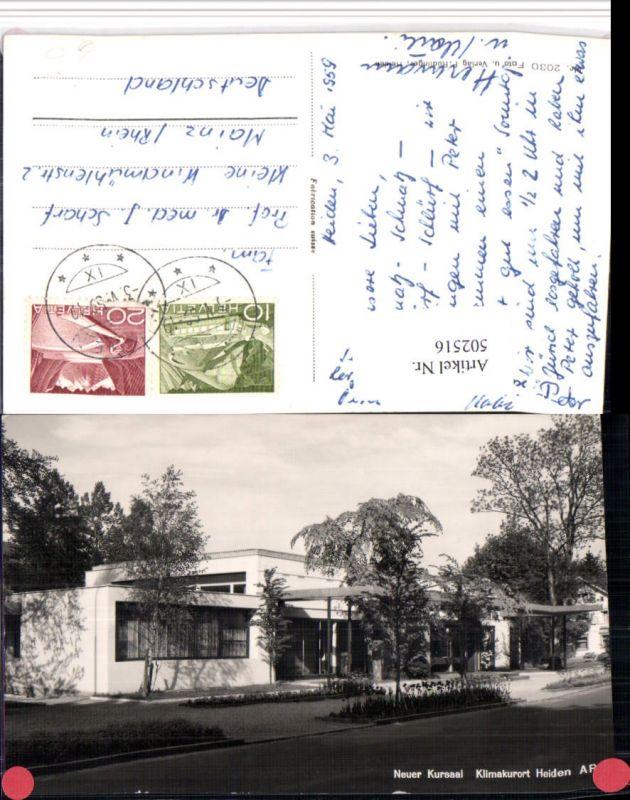 502516,Heiden Neuer Kursaal Kt Appenzell