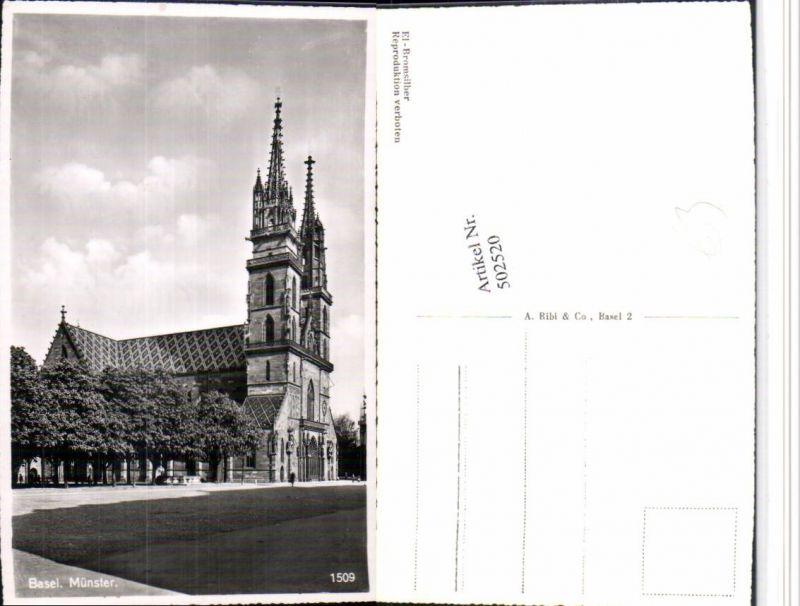 502520,Basel Münster Kirche