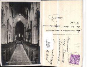 502771,Neuchatel Neuenburg Collegiale Interieur Kirche Kanzel
