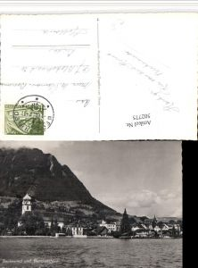 502775,Beckenried Teilansicht m. Buochserhorn Kt Nidwalden