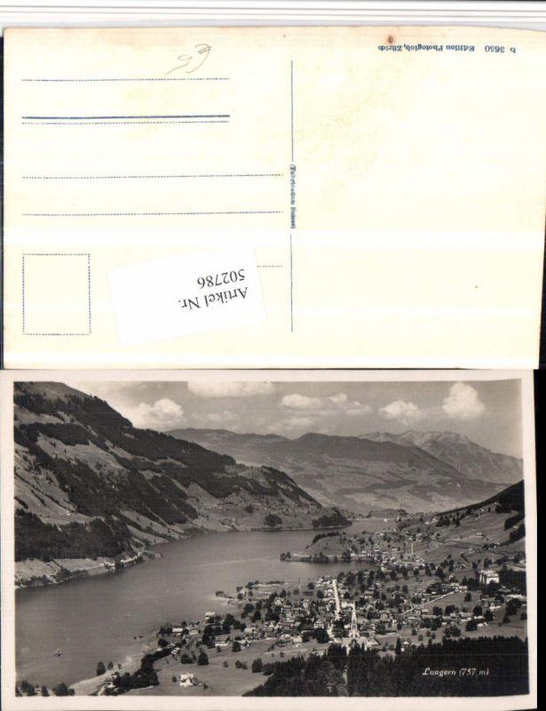 502786,Lungern Totale Bergkulisse Kt Obwalden