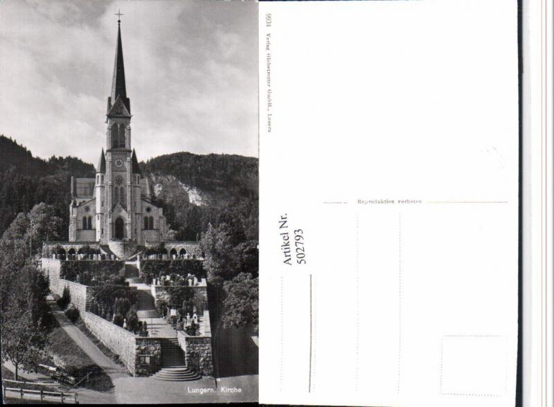 502793,Lungern Kirche Kt Obwalden