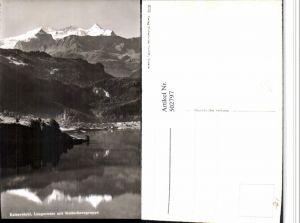 502797,Lungernsee See b. Lungern m. Wetterhorn Bergkulisse Kt Obwalden