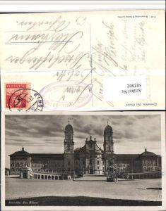 502802,Einsiedeln Kloster Kirche Kt Schwyz