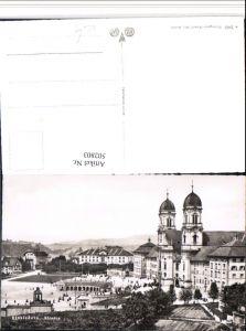 502803,Einsiedeln Kloster Kirche Kt Schwyz
