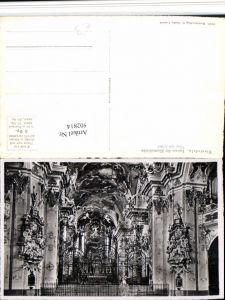 502814,Einsiedeln Klosterkirche Innenansicht Chor Gitter Kt Schwyz