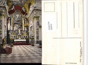 502816,Einsiedeln Stift Kloster Kirche Hochaltar Kt Schwyz