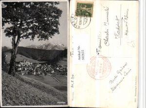 502822,Einsiedeln Totale Bergkulisse Kt Schwyz