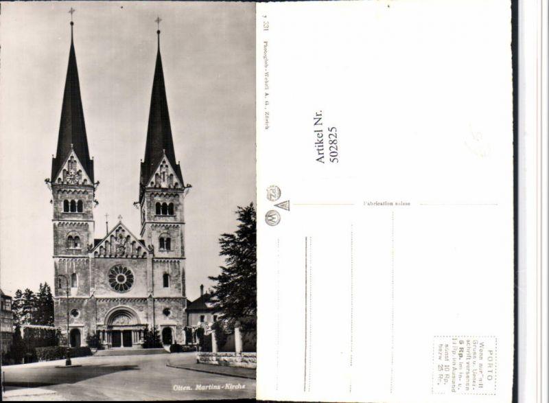502825,Olten Martins-Kirche Kt Solothurn
