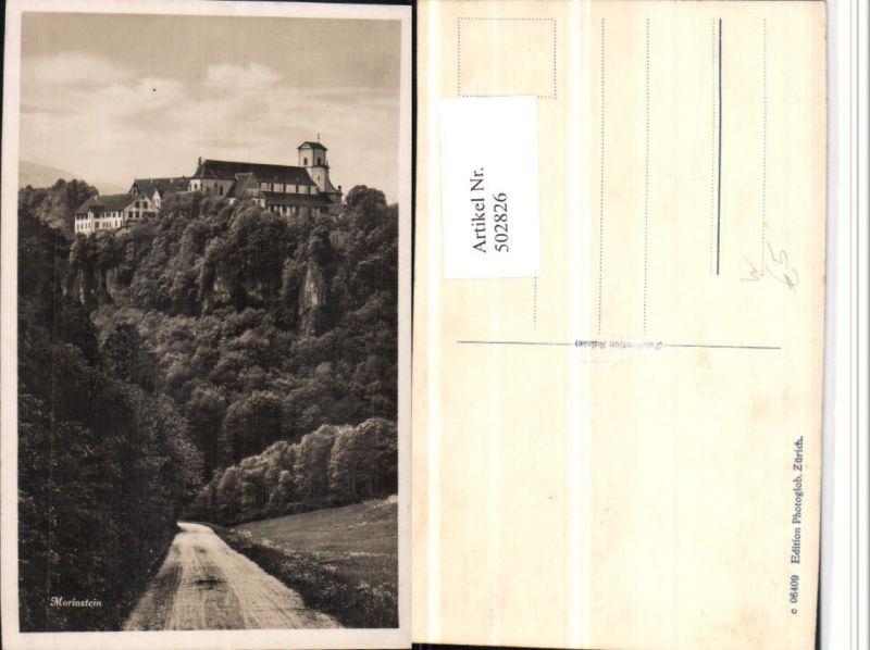 502826,Mariastein Kloster b. Metzerlen Kt Solothurn