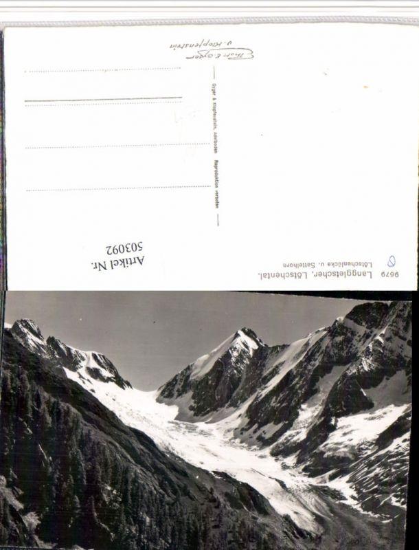 503092,Langgletscher Lötschental b. Blatten Bergkulisse Kt Wallis