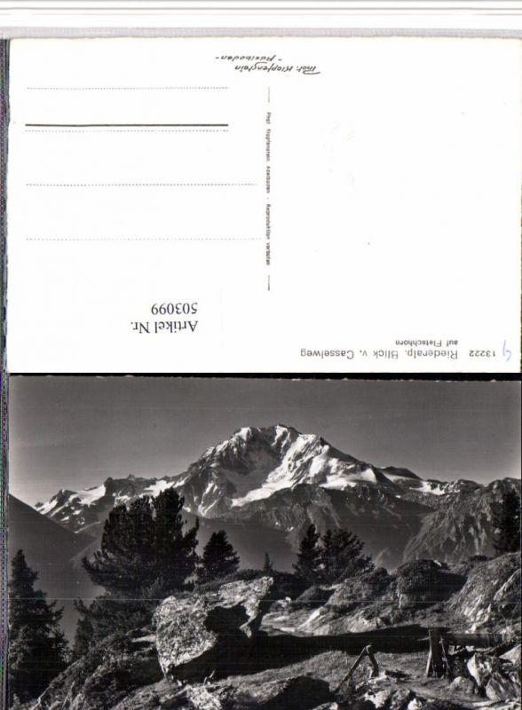 503099,Riederalp Blick vom Casselweg Bergkulisse Kt Wallis