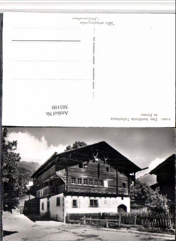 503100,Ernen Tellenhaus Haus Kt Wallis