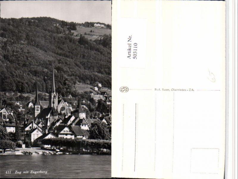503110,Zug Teilansicht m. Zugerberg