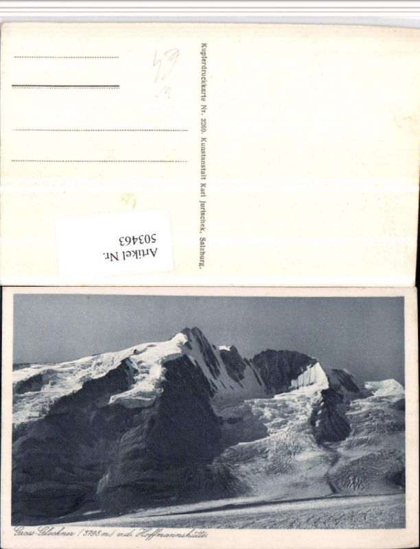503463,Großglockner von d. Hoffmannshütte b. Heiligenblut Bergkulisse