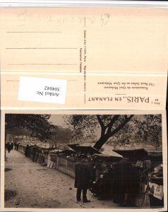 504042,Paris Bouquinistes du Quai Malaquais Beruf Verkäufer Bücher Ansichtskarten