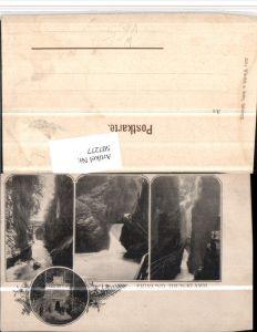 507277,Sigmund-Thun-Klamm b. Kaprun Mehrbildkarte pub Würthle & Sohn