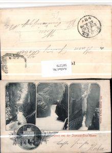 507279,Sigmund-Thun-Klamm b. Kaprun Mehrbildkarte pub Würthle & Sozhn