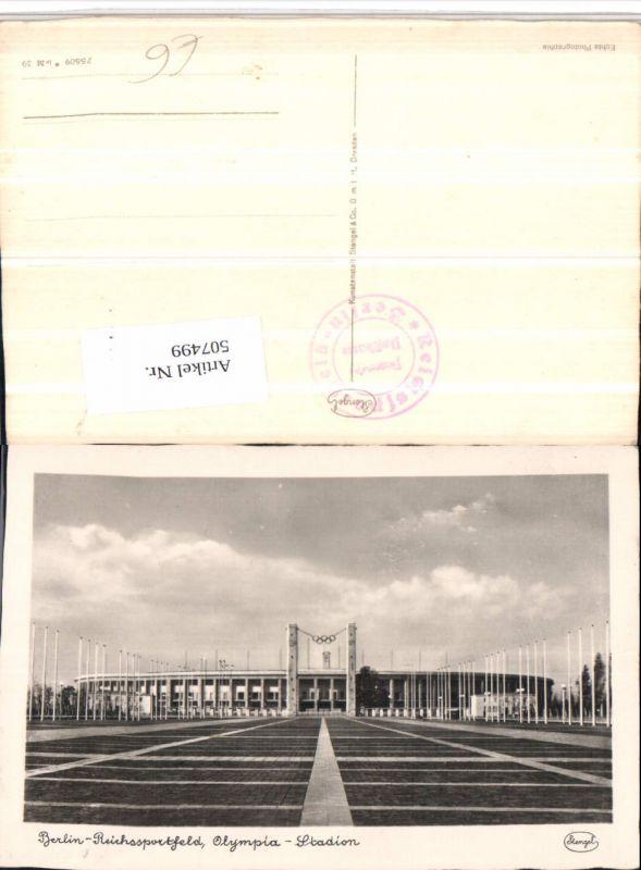 507499,Berlin Reichssportfeld Olympia Stadion pub Stengel & Co 0