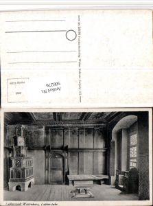 508276,Wittenberg Lutherstube Innenansicht Kachelofen Ofen