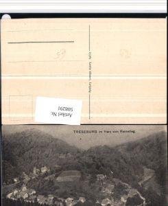 508291,Treseburg im Harz Totale vom Rennstieg