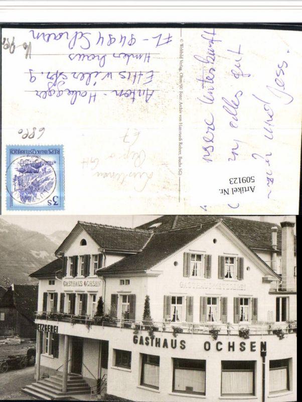 509123,Repro Buchs Gasthaus Ochsen Kt St Gallen