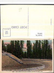 509766,Montana Glacier National Park Going-to-the-Sun Highway Loop Kurve