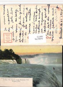 509775,Künstler AK New York Niagara Falls Wasserfall