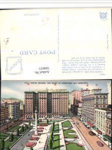 509815,California San Francisco Downtown Union Square Säule