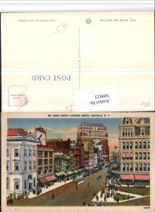 509823,New York Buffalo Main Street looking North Straße
